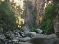 Entrée du canyon de la Richjusa