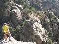Perchés au-dessus du canyon