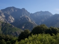 Le massif du Monte Renosu, versant Ouest